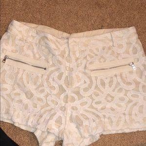 Rachel Roy floral shorts